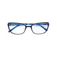 Face À Face Óculos Gatinho - Azul
