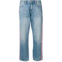 Tommy Jeans Calça Jeans Boyfriend Com Logo - Azul