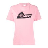 Mcq Alexander Mcqueen Camiseta Com Estampa De Logo - Rosa