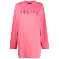 Diesel Vestido D$Troy - Rosa