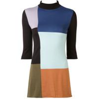 Colville Suéter Color Block - Colorido