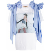 Gina Camiseta Gorgeous - Branco