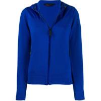 Canada Goose Zipped Hooded Cardigan - Azul