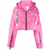 Khrisjoy Quilted Puffer Jacket - Rosa