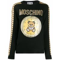 Moschino Suéter 'teddy Bear' - Preto