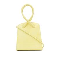 Little Liffner Bolsa Tote Ingrid Com Efeito Texturizado - Amarelo