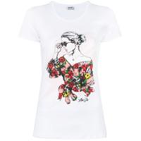 Liu Jo Camiseta Safari Garden Party - Branco