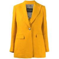Etro Blazer Boxy Decote Em V - Amarelo