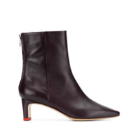 Aeyde Ankle Boot Ivy - Roxo