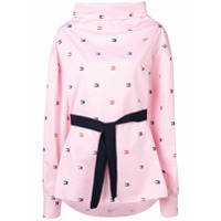 Hilfiger Collection Saia Com Cinto - Rosa