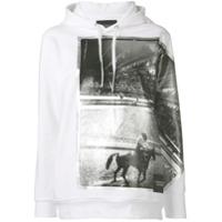 Calvin Klein Jeans Moletom Com Capuz Andy Warhol - Branco