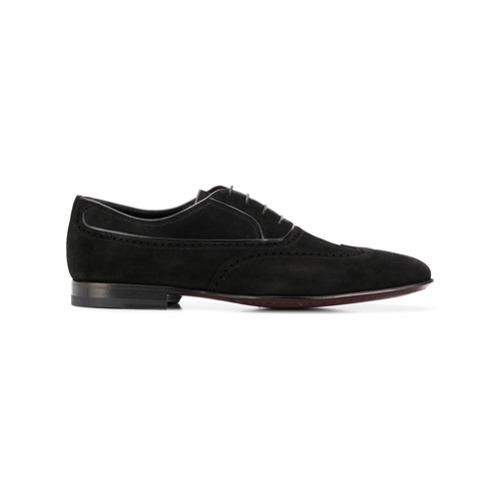 Imagem de A. Testoni brogue detail Oxford shoes - Preto