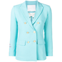 Giada Benincasa Double Breasted Blazer - Azul