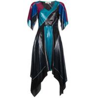 Dvf Diane Von Furstenberg Vestido Assimétrico - Preto