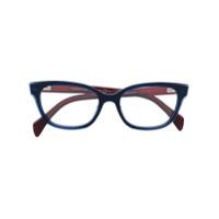 Tommy Hilfiger Armação De Óculos Quadrada - Azul