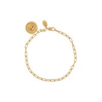 Northskull Skull Charm Bracelet - Dourado