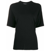 Ami Paris Camiseta Mangas Curtas - Preto
