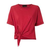 Andrea Bogosian Camiseta Richard Mangas Curtas - Vermelho