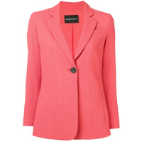 Emporio Armani Single Button Blazer - Rosa