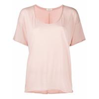 Rag & Bone Camiseta Gola U - Rosa