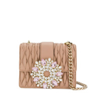 Gedebe Gio Embellished Tote - Rosa