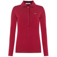 Lacoste Camisa Polo - Vermelho