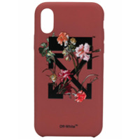 Off-White Capa Para Iphone X/xs - Vermelho
