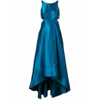 Aidan Mattox Vestido De Festa Com Vazado - Azul