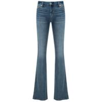 7 For All Mankind Calça Jeans Pocket Flare - Azul