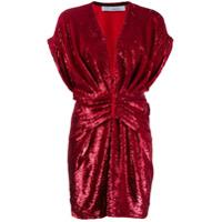 Iro Vestido Com Paetês Mini 'lilou' - Vermelho