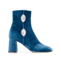 Giannico Ankle Boot Julie - Azul