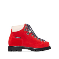 Proenza Schouler Ankle Boot Com Cadarço - Vermelho