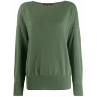 Incentive! Cashmere Suéter Oversized - Verde