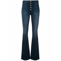 Mother Calça Jeans Flare - Azul