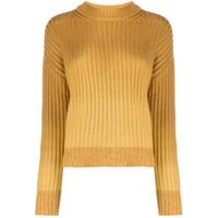 Naadam Suéter Decote Careca Degradê - Amarelo