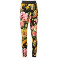 Dolce & Gabbana Legging Floral - Preto