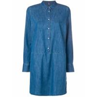 Tommy Jeans Vestido Jeans - Azul