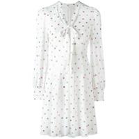 Marc Jacobs Vestido Com Brilho - Branco