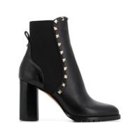 Valentino Valentino Garavani Rockstud Ankle Boots - Preto