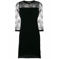 Boutique Moschino Vestido Com Renda - Preto