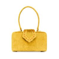 Mehry Mu Velvet Boxy Tote - Amarelo