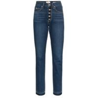 Eve Denim Calça Jeans 'silver Bullet' Reta - Azul