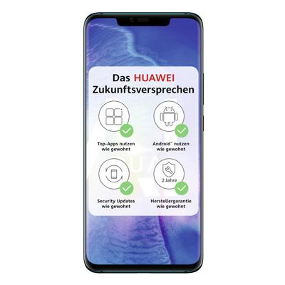 HUAWEI Mate 20 Pro 128GB Hybrid SIM Emerald Green [16,23cm (6,39 ) OLED Display, Android 9.0, 40 20 8MP Triple] auf Rechnung bestellen