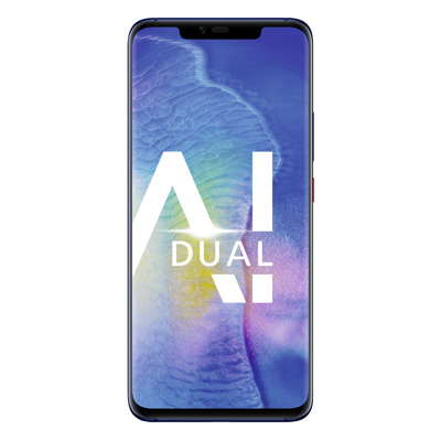 "HUAWEI Mate 20 Pro 128GB Hybrid-SIM Midnight Blue [16,23cm (6,39"") OLED Display, Android 9.0, 40+20+8MP Triple]"