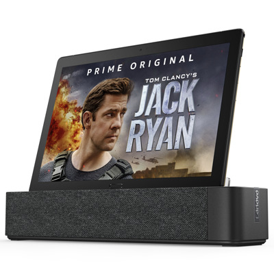 "Lenovo Smart Tab P10 mit Amazon Alexa B-Ware 10,1"" FHD IPS, 3 GB RAM, 32 GB Flash, Android 8.1 + Smart Dock"