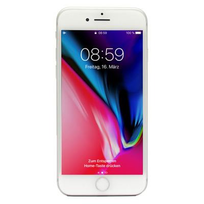 Apple iPhone 8 64GB Silber EU [11,94cm (4,7 ) Retina HD Display, iOS 11, A11 Bionic, 12MP]