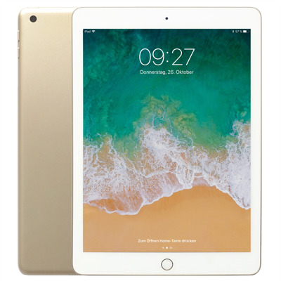 Apple iPad 2018 32 GB Wi Fi Cellular, Gold auf Rechnung bestellen