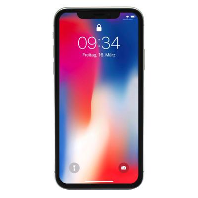 Apple iPhone X 64GB Silber [14,7cm (5,8 ) Super Retina HD Display, iOS 11, A11 Bionic, 12MP Dual]