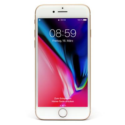 Apple iPhone 8 64GB Gold EU [11,94cm (4,7 ) Retina HD Display, iOS 11, A11 Bionic, 12MP]