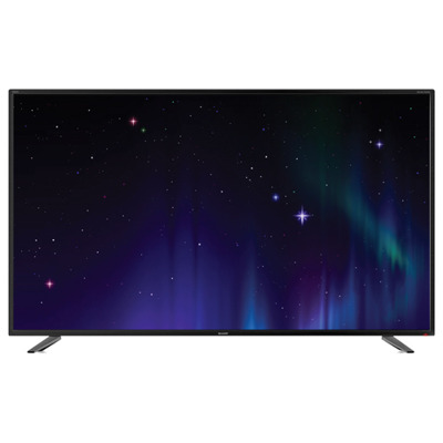 Sharp LC 55 UI7252 E 139 cm (55 Zoll) Fernseher (4K Ultra HD, HDR, Smart TV, WLAN, Triple Tuner (DVB T2), harman kardon Sound)
